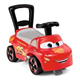 Smoby Mi Primer Coche de Cars, Coche para niños con Compartimento de Almacenamiento y protección...