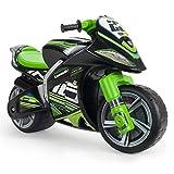 INJUSA - Moto Correpasillos Winner Kawasaki XL No Eléctrico, Color Negro y Verde, con Licencia...