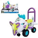 Disney Toy Story Correpasillos avión con luz y sonido Buzz Lightyear (Colorbaby 46342)