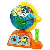 VTech - Globo multiaventuras, infantil interactivo que enseña geografía, continentes, océanos y...