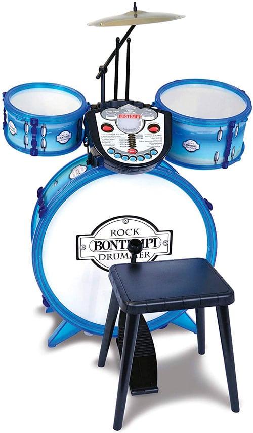 bateria niños bontempi blue