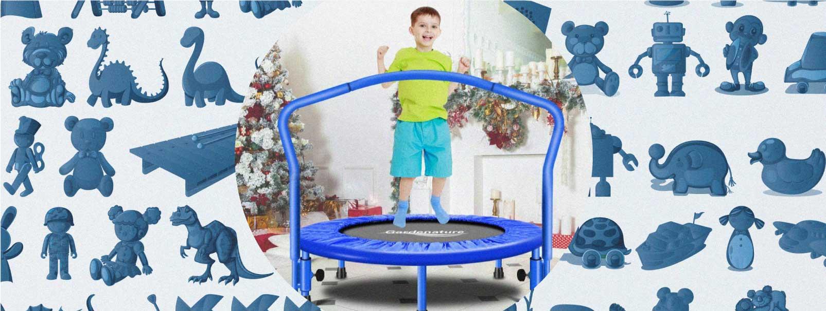 mejores camas elasticas para niños